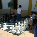 Multijuegos ajedrez gigante