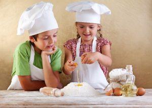actividade para niños chef