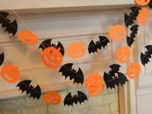 calabazas-y-muercilagos halloween