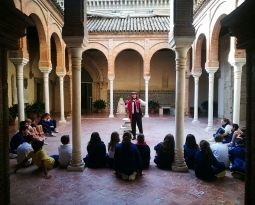 El COLEGIO EUROPA VISITA EL MUSEO DE BELLAS ARTES Y  EL CAAC CON #ESCOCULTURA