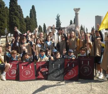 actividades para niños en sevilla Vida romana Itálica