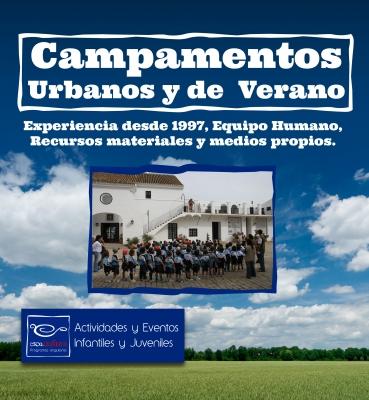 Organización de campamentos urbanos y de verano