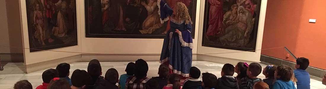 Visitas escolares a museos