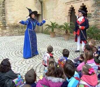 Actividades para alumnos El Castillo de la Bruja Peluja