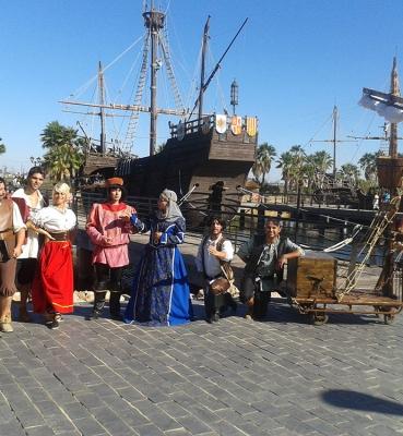 Animaciones infantiles en Sevilla El Descubrimiento