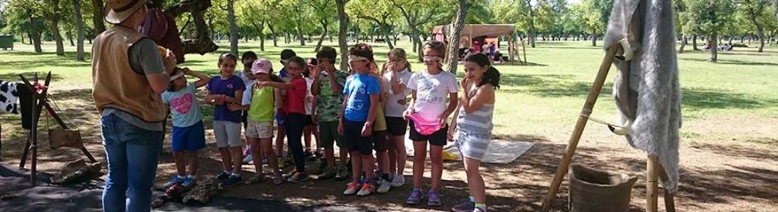 Regreso a la prehistoria: Actividad para niños de infantil y primaria