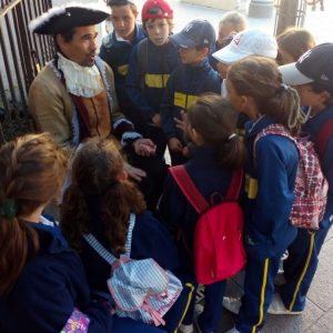 Escolares en Sevilla