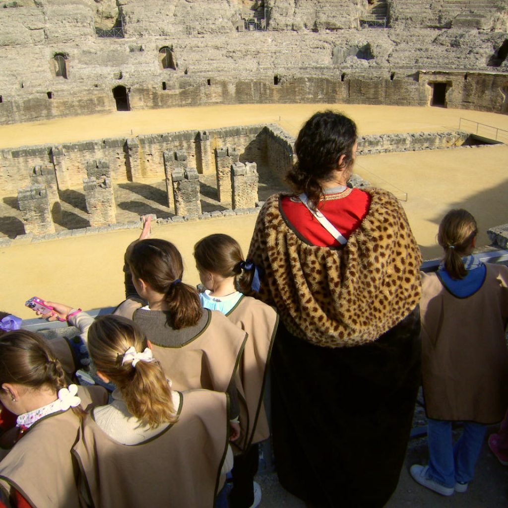visitas a itálica para niños